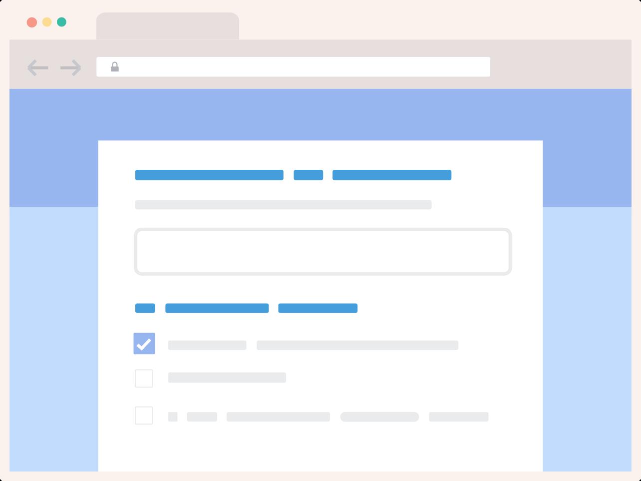 Envie email marketing de pesquisa com formulários do Google